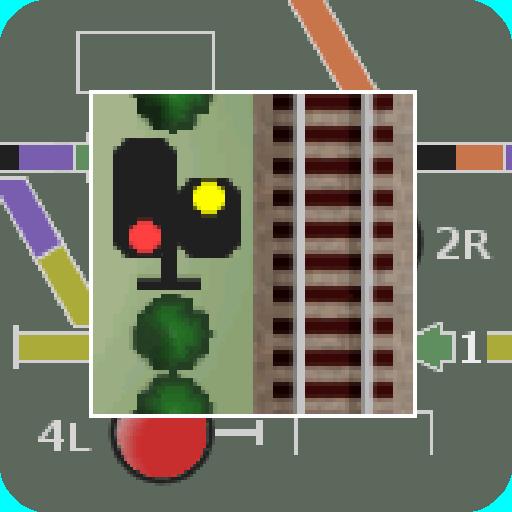 模拟の掌内鉄道 狐坂駅 LOGO-記事Game