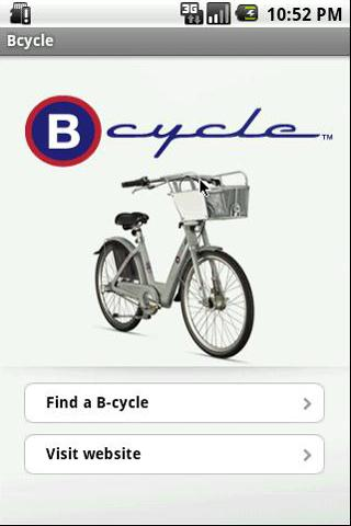 B-cycle - screenshot
