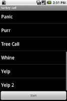 Screenshot of Turkey Calls