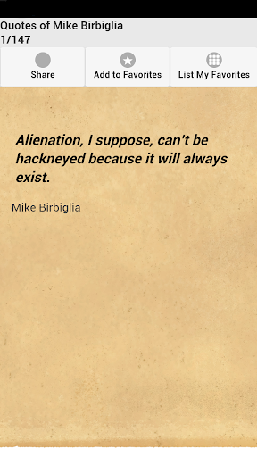 Quotes of Mike Birbiglia