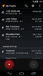 My Tracks Screenshot 1