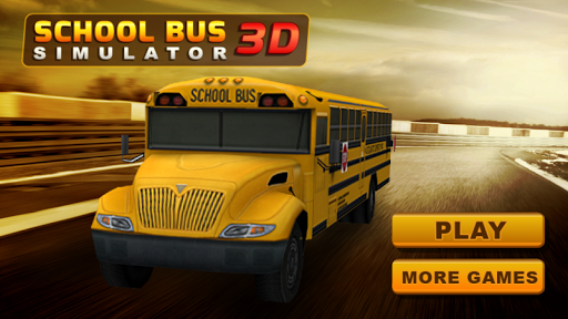 school bus driving simulater