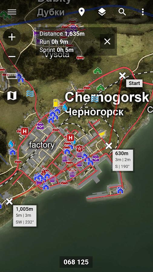 DayZ Central - Map & Guide - screenshot