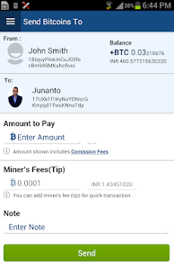 Easbit Mobile Bitcoin Wallet- screenshot thumbnail