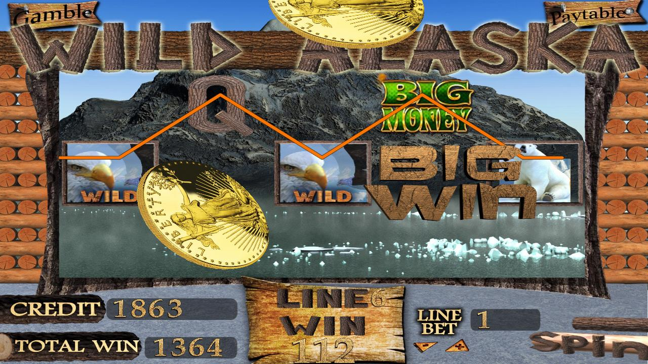WILD ALASKA SLOT MACHINE- screenshot