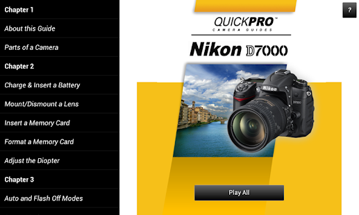 Guide to Nikon D7000- screenshot thumbnail