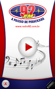 Rádio 92 FM- screenshot thumbnail