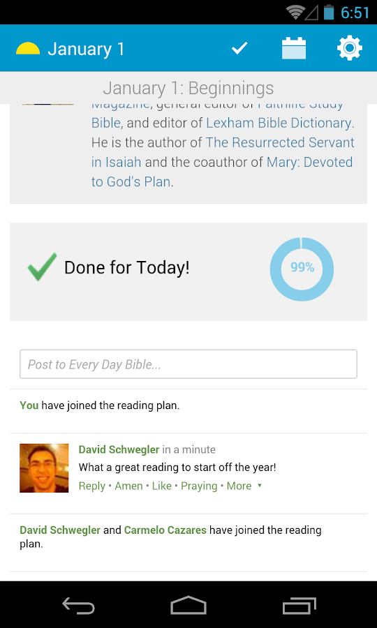 Every Day Bible- screenshot