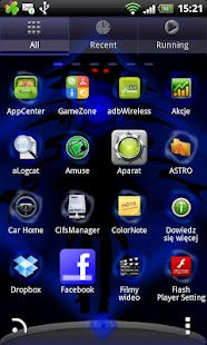Go Launcher EX Theme Witch- screenshot thumbnail