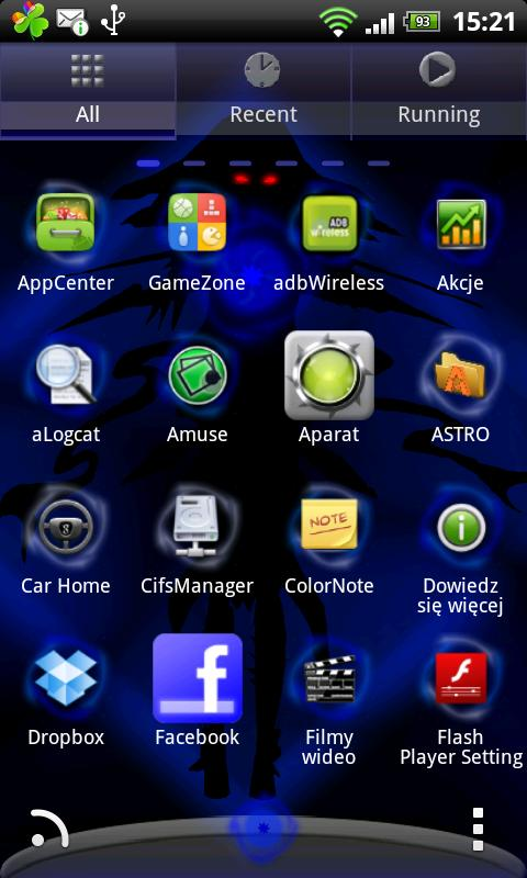 Go Launcher EX Theme Witch- screenshot