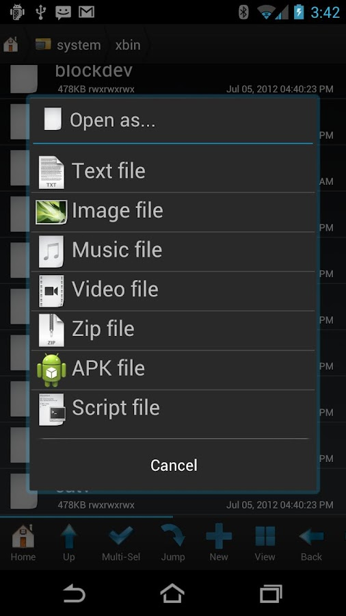 Root Browser (File Manager) Screenshot 2