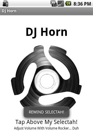 Dj Horn Soundboard - screenshot