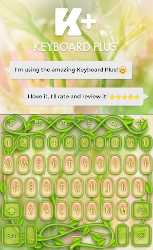 自然のキーボード