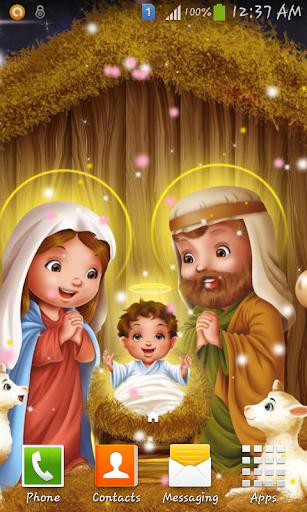 Christmas crib wallpaper 2
