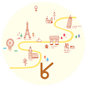 Let's go travel_ATOM spring icon