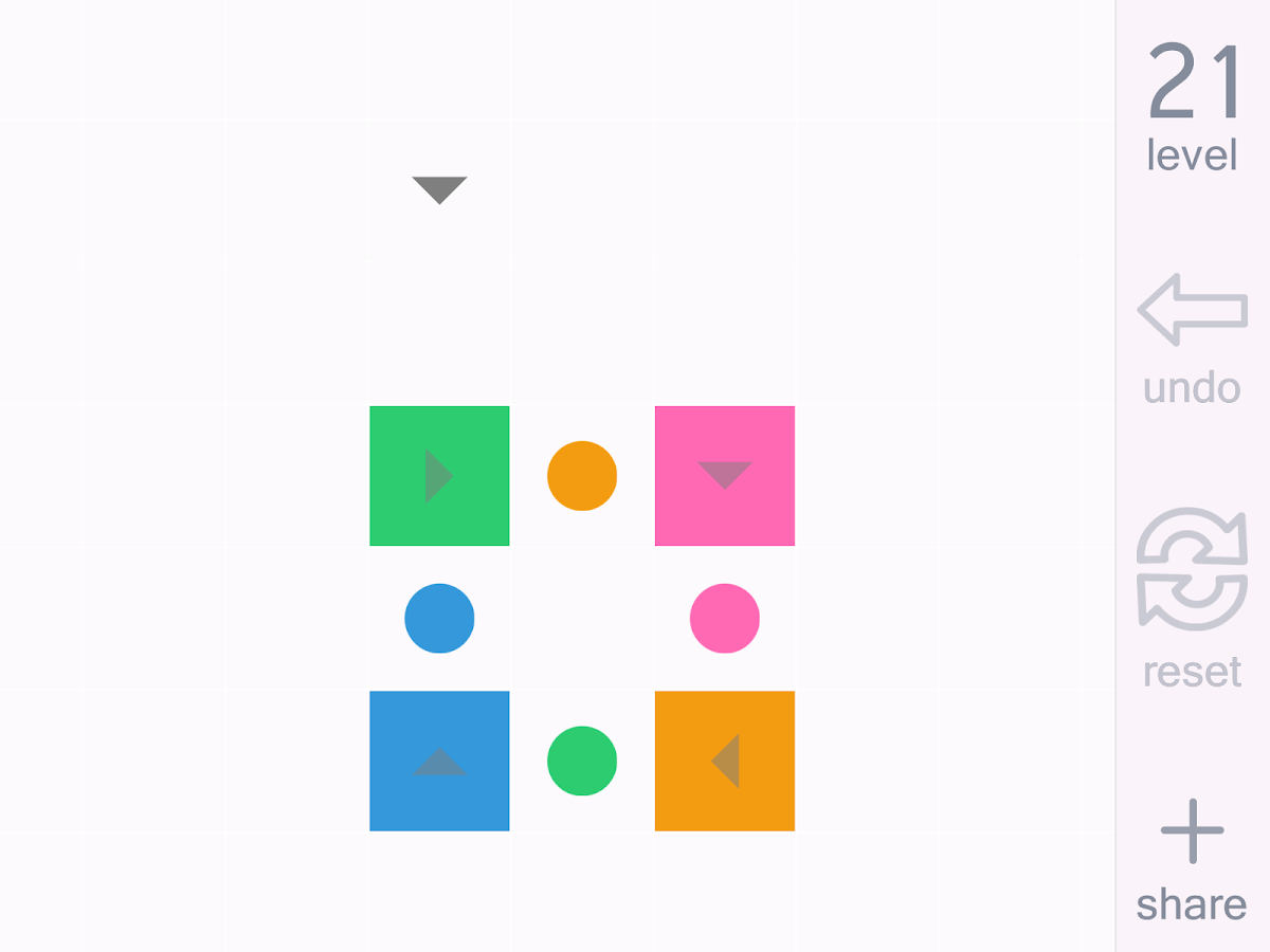 Game color squares - Square Puzzle Game Amazing 15 Screenshot