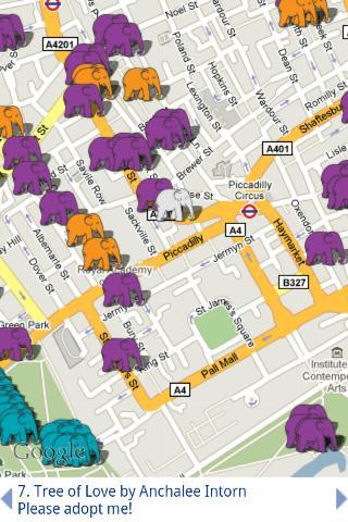 Elephant Parade (London)- screenshot