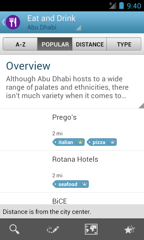Abu Dhabi Guide by Triposo - screenshot