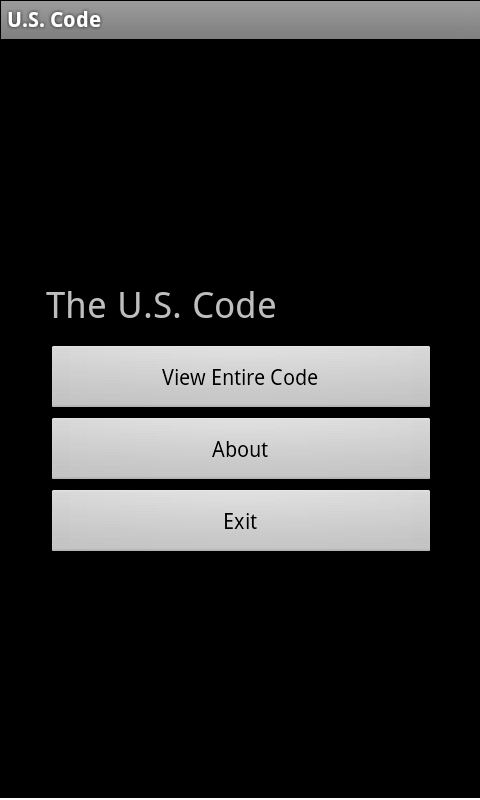 U.S. Flag Code App - screenshot
