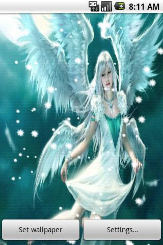 3D Angel Live Wallpaper - screenshot