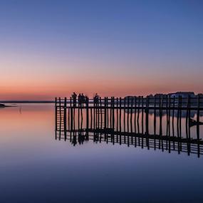 Mourisca's sunrise. by Eugénio Buchinho - Landscapes Waterscapes