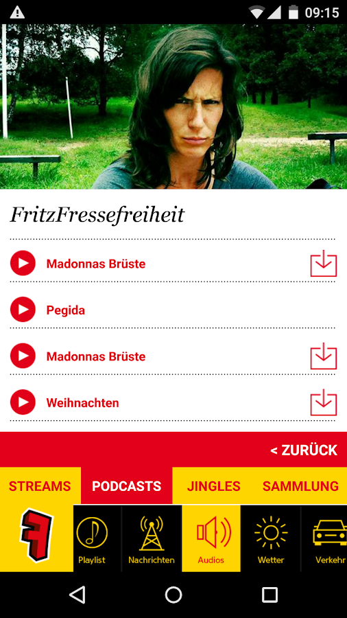 Radio Fritz- screenshot
