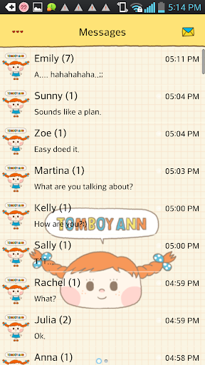 Filly go sms theme