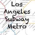 Los Angeles Subway Map icon