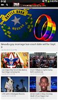 Screenshot of FOX5 Las Vegas Mobile