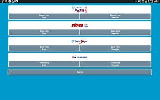 Screenshot of Milli Piyango Oyunları
