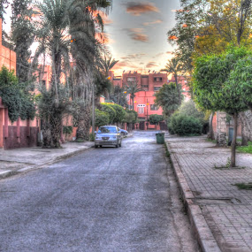 HDR in marrakesh by Tariq Ouhti - City,  Street & Park  Street Scenes ( hdr, fist, marrkesh, try )