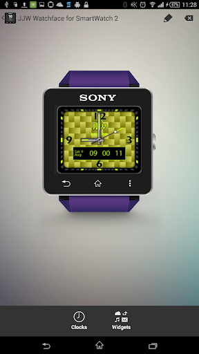 JJW Carbon Watchface 2 for SW2