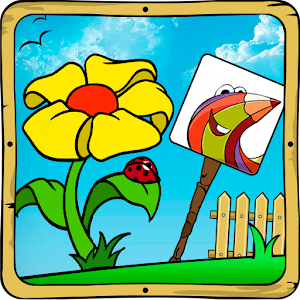 Baby coloring apps:the flowers for PC and MAC