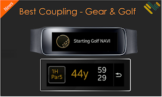 Screenshot of GearFit Golf NAVI+