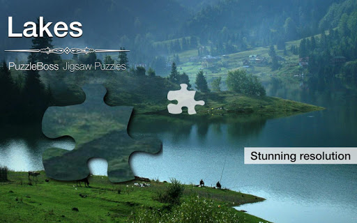 Lake Jigsaw Puzzles Demo