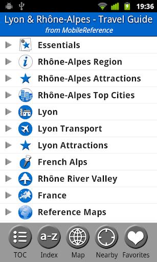 Lyon Rhône-Alpes FREE Guide
