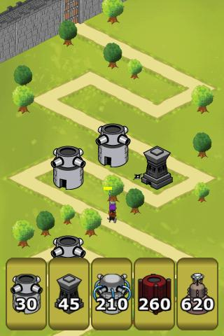 City Defense Lit Tower Defense - screenshot
