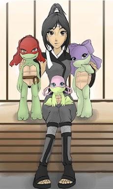 Ninja Turtles Girls Puzzleのおすすめ画像1