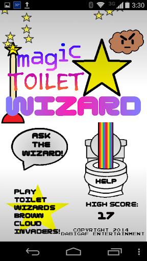 Magic Toilet Wizard
