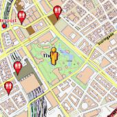 Copenhagen Amenities Map