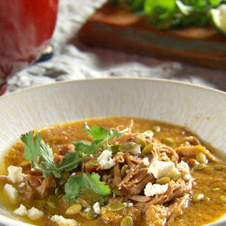 Green Chile and Tomatillo Pork Stew