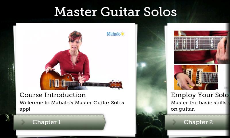 Master Guitar Solos - screenshot