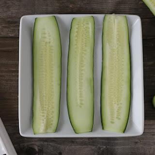 Cucumber Smoked Salmon Roll Ups