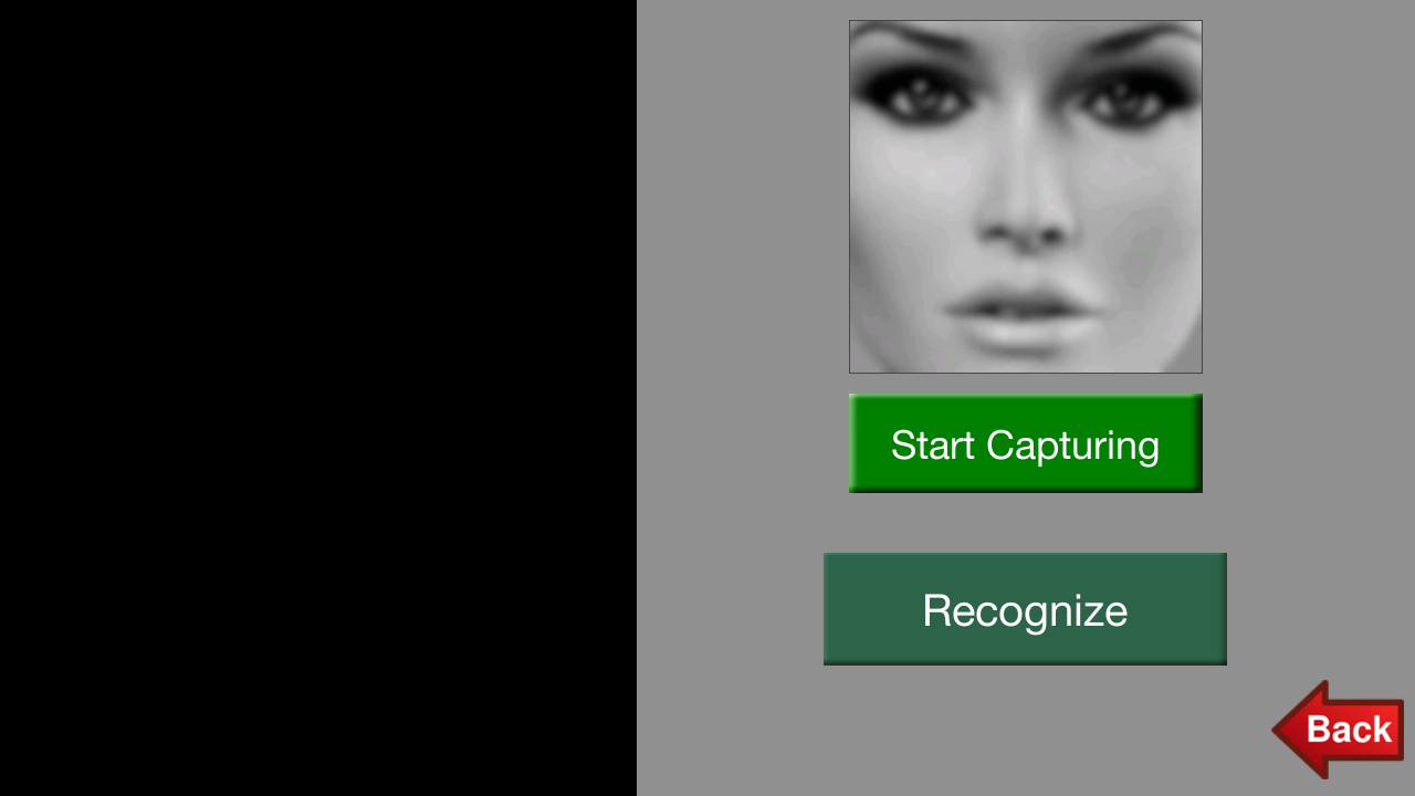 Face Recognizer - screenshot