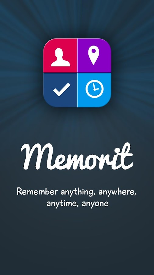 Memorit Reminder- screenshot