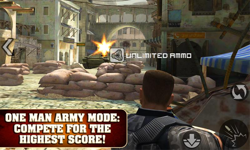 FRONTLINE COMMANDO - screenshot