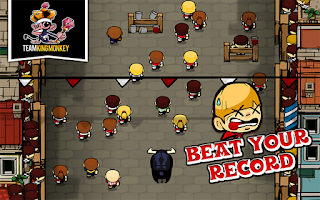 Screenshot of Bad San Fermin Bullrun Revenge
