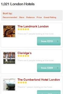 Hotel Price Scanner- screenshot thumbnail