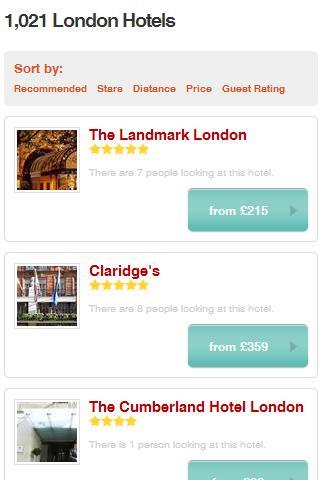 Hotel Price Scanner- screenshot