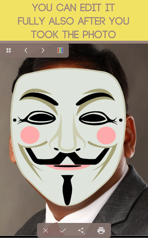 Mask Selfie- screenshot